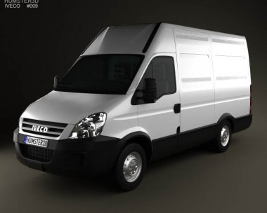 3D model of Iveco Daily Panel Van 3300 H2 2008