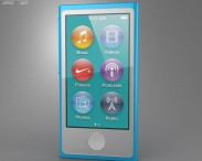 3D model of Apple iPod nano 5th generation