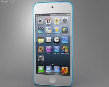 3D model of Apple iPod Touch 5th generation