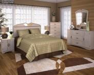 3D model of Ashley Havianna Panel Bedroom Set