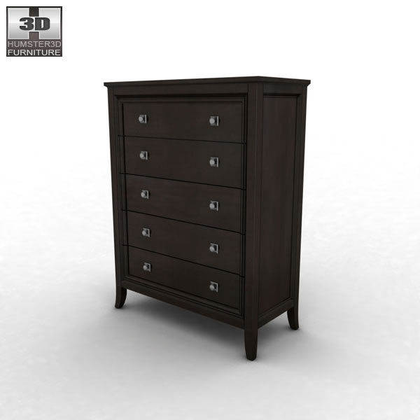 ashley martini suite storage bedroom set 3d model humster3d