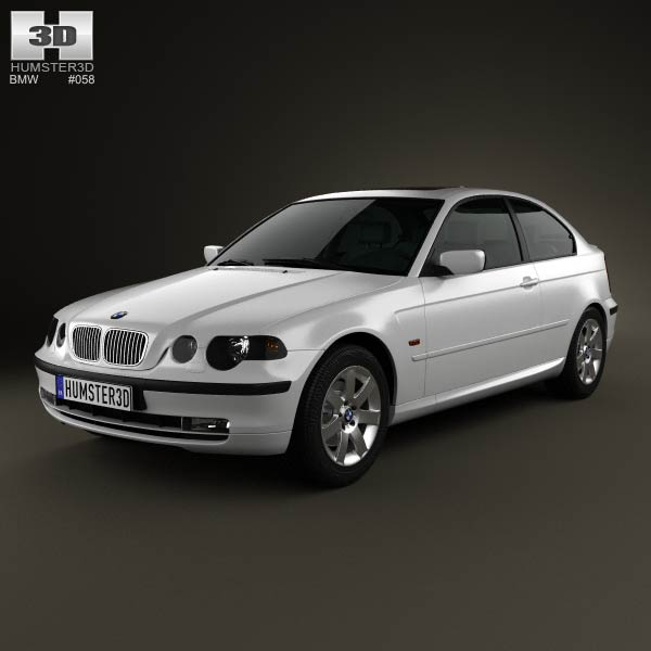 BMW 3 Series compact (E46) 2004 3d car model