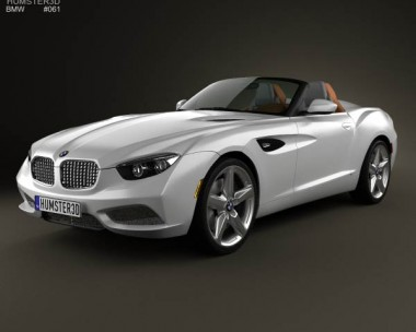 3D model of BMW Zagato Roadster 2012