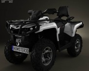3D model of BRP Can-Am Outlander MAX XT 2013