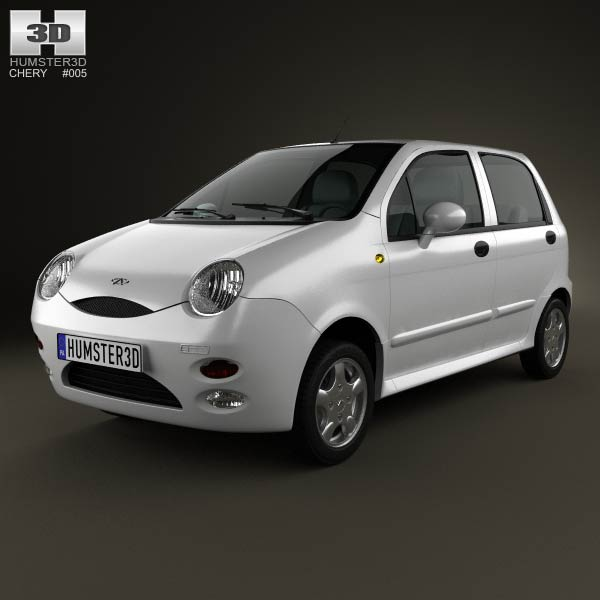 Chery QQ (S11) 2006 3d car model