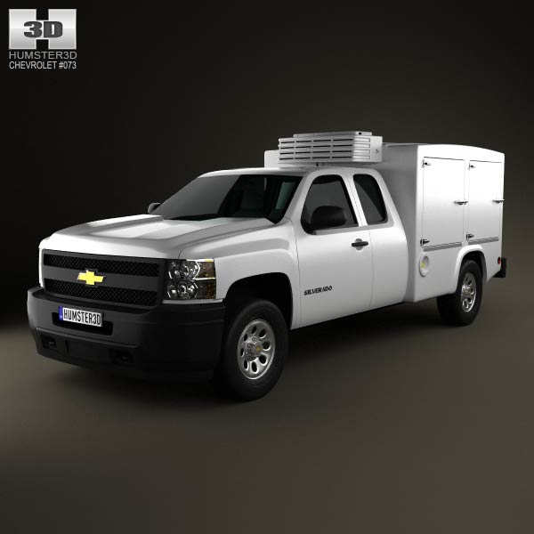 Chevrolet Silverado Hotshot II XL 2011 3d car model