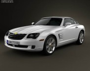 3D model of Chrysler Crossfire coupe 2003