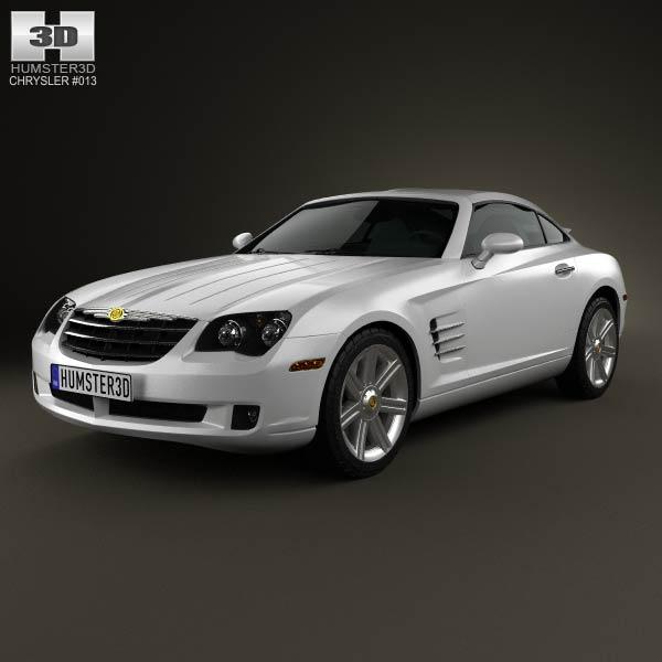 3D model of Chrysler Crossfire coupe 2003