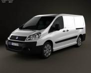 3D model of Fiat Scudo Panel Van L2H1 2011