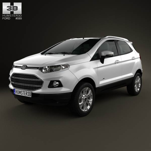 Ford Ecosport Titanium 2013 3d car model