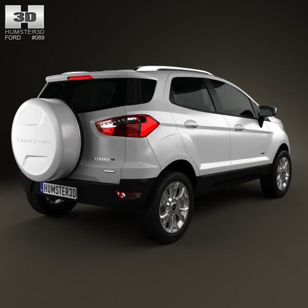Ford Ecosport Titanium 2013 3d model