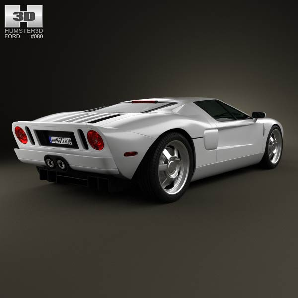 Ford GT 2006 3d model