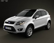 3D model of Ford Kuga 2012
