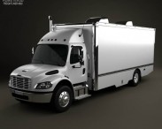 3D model of Freightliner M2 106 Custom Tool Truck 2012