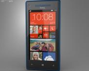 3D model of HTC 8X California Blue