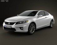 3D model of Honda Accord coupe 2013