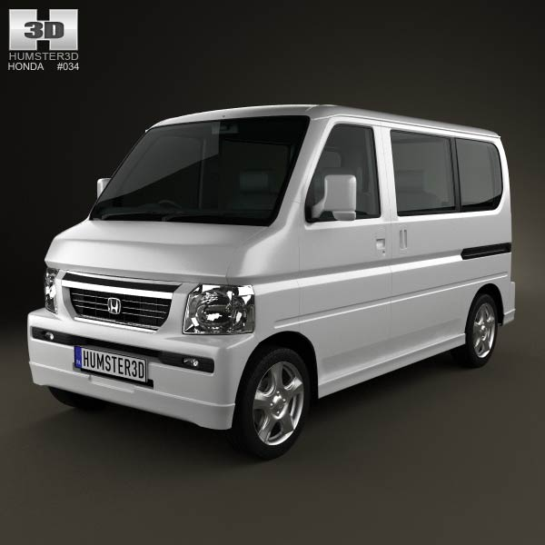 Honda Vamos HM2 2012 3d car model