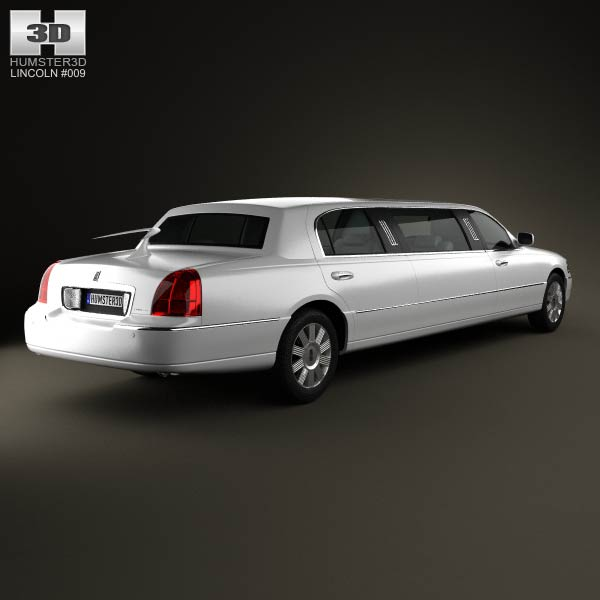 Lincoln Town Car Limousine 2011 3d model