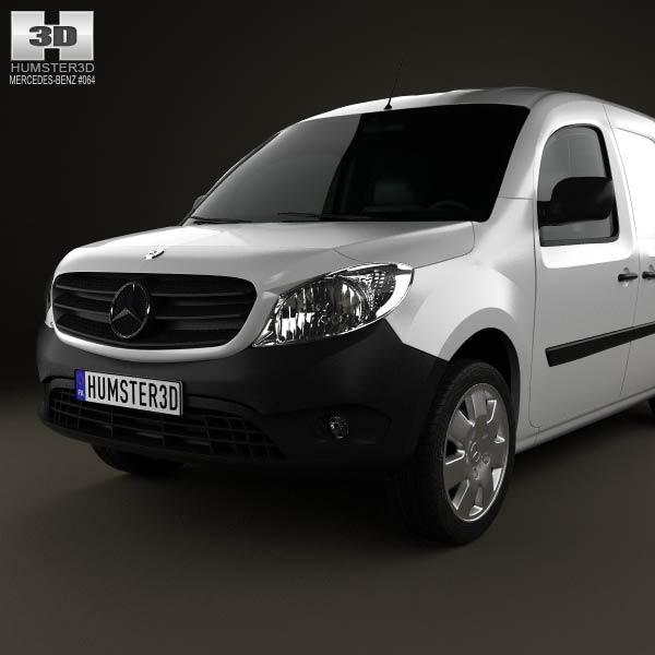 Mercedes benz citan mixto 2012 3d model humster3d for Mercedes benz 2012 models