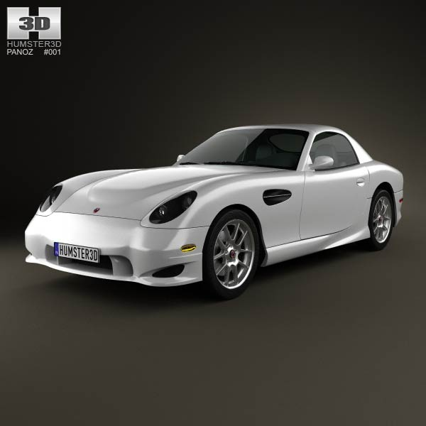 Panoz Esperante GT 2012 3d car model