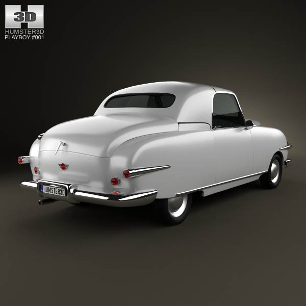 Playboy Convertible 1951 3d model