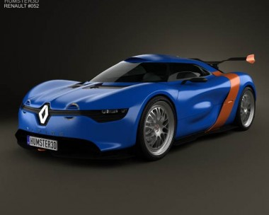 3D model of Renault Alpine A110-50 2012