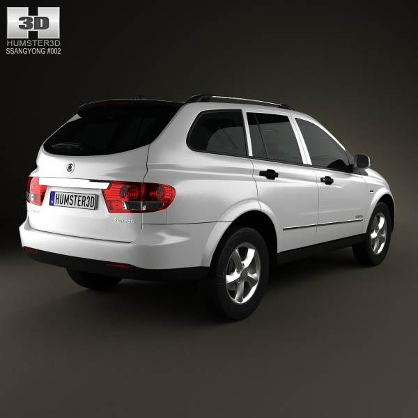 SsangYong Kyron 2011 3d model