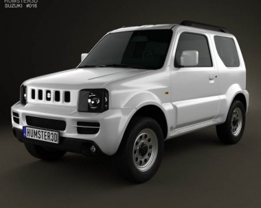 3D model of Suzuki Jimny 2012