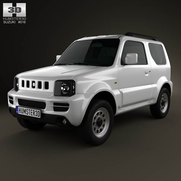 Suzuki Jimny 2012 3d car model