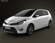3D model of Toyota Verso (E'Z) 2013