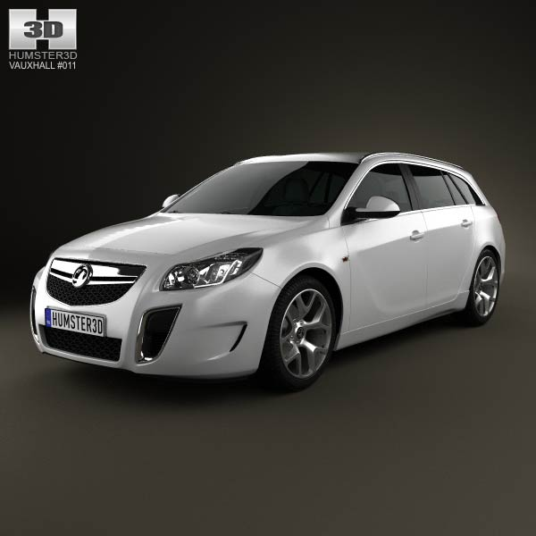 Vauxhall Insignia VXR Sports Tourer 2012 3d car model