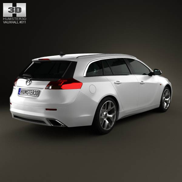 Vauxhall Insignia VXR Sports Tourer 2012 3d model