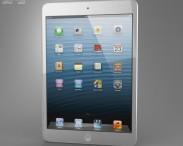3D model of Apple iPad Mini White
