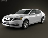 3D model of Acura RLX 2013