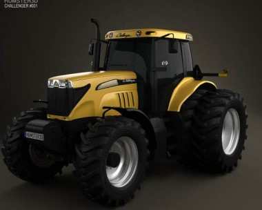 3D model of Caterpillar Challenger MT595B 2012