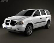 3D model of Dodge Durango 2008