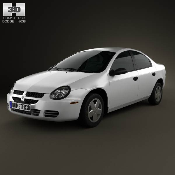 Dodge Neon 2005 3d car model