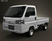 3D model of Honda Acty (Vamos) Truck 2012