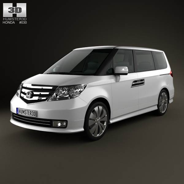 Honda Elysion 2012 3d car model