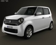 3D model of Honda N-One 2013