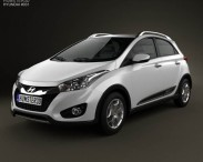 3D model of Hyundai HB20X 2013