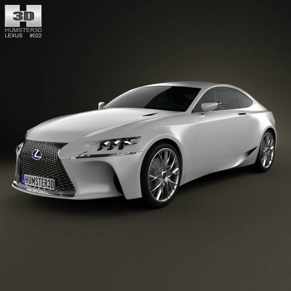 Lexus LF-CC 2012 3d car model
