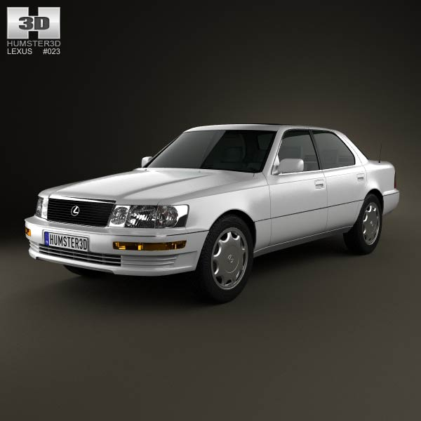 Lexus LS (XF10) 1989 3d car model