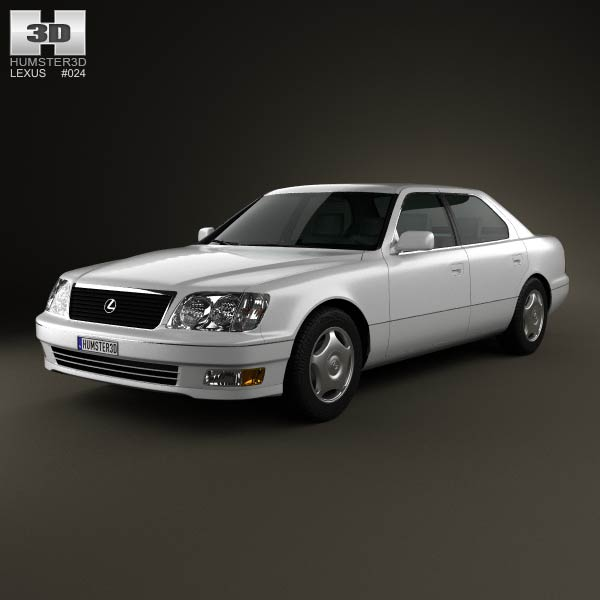 Lexus LS (XF20) 1997 3d car model