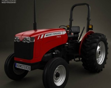 3D model of Massey-Ferguson 2625 2012