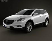 3D model of Mazda CX-9 2013