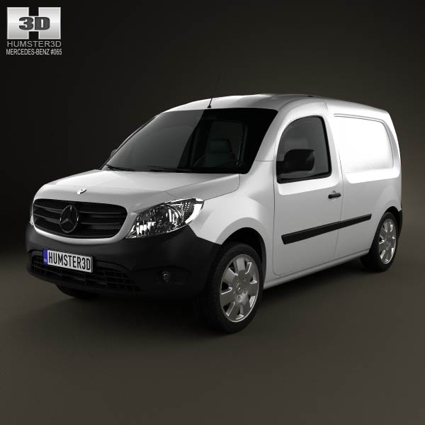 Mercedes-Benz Citan Panel Van 2012 3d car model