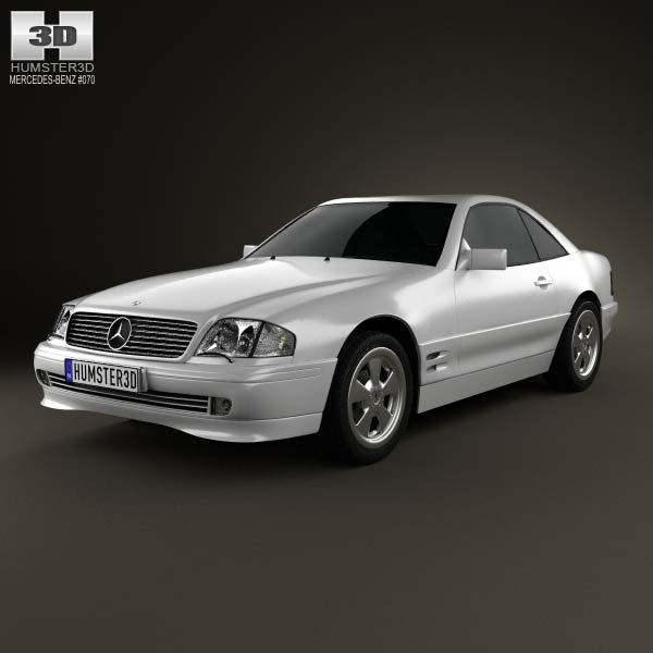 Mercedes-Benz SL-class (R129) 2002 3d car model