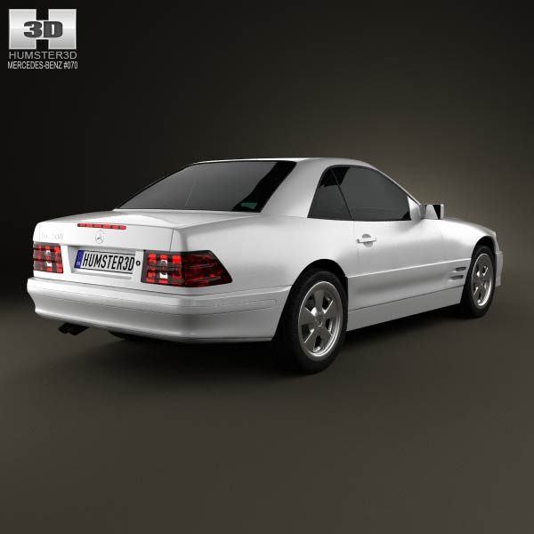 Mercedes-Benz SL-class (R129) 2002 3d model