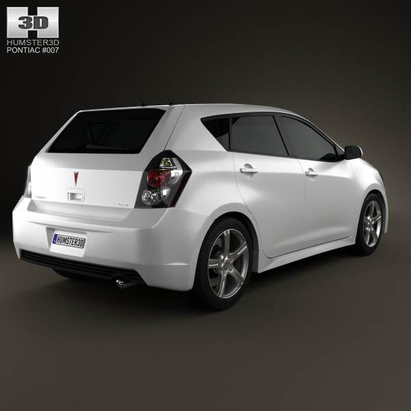 Pontiac Vibe 2009 3d model